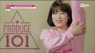 Produce 101 Bad Girl Good Girl Practice