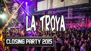 La Troya Closing Party  Amnesia Ibiza 2015