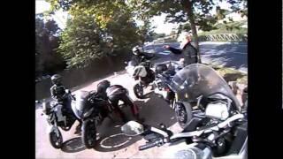 preview picture of video 'Helmet camera prima dopo e durante Civita Castellana (VT)'