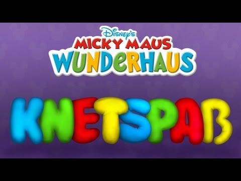Mickey Maus Wunderhaus Knetspaß - Spiel mit Knete, iPad