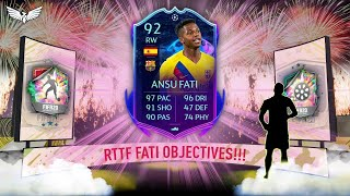 *LIVE* RTTF FATI OBJECTIVES!!!PRE-SEASON PROMO HYPE!!! OBJECTIVE GRINDING!!! - FIFA 20 Ultimate Team