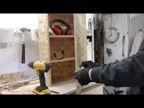 Armadietto Fai da Te in OSB - progetto Low cost by Fani Maker