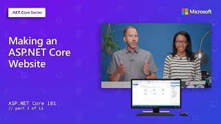 Making an ASP.NET Core Website   ASP.NET Core 101 [2 of 13]