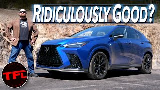 I Didn't Expect The 2022 Lexus NX To Be Like This...: First Drive Review