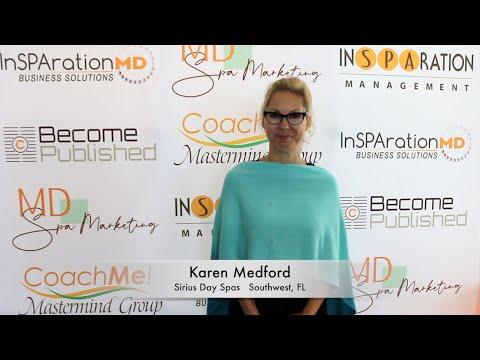 Karen Medford - Sirius Day Spas
