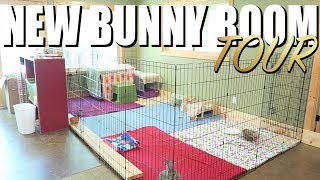 New Bunny Room Tour! 🐰