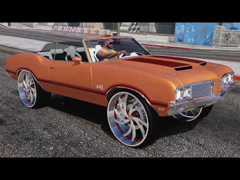 1970 Oldsmobile Cutlass 442 on Corleone Wheels - GTA 5 MODS
