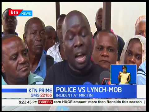 A 37 year old man has been shot dead by police officers in Miritni,Mombasa