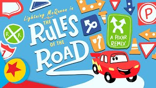 """Pixar Remix: Cars """"Rules of the Road""""   Trailer"""
