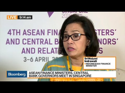 Indonesia Finance Minster On Trade War, Investment, Growth