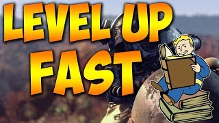 How To Level Up Fast Fallout 76 Easy Xp Farm + Infinite Ammo Farm + Easy Wood Farm