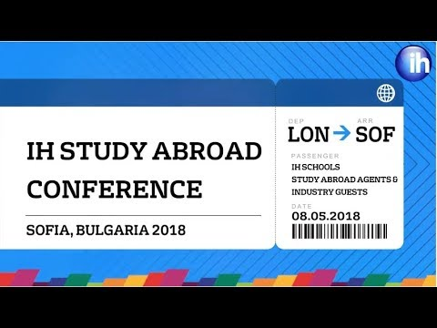 IH Study Abroad Conference
