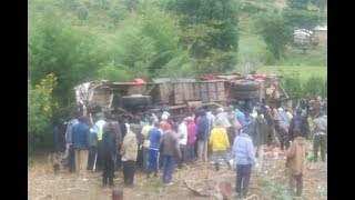 Kericho bus crash: What we know — VIDEO
