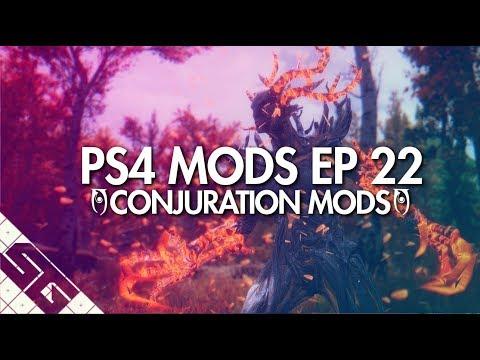 Best Skyrim Summon Mods! PS4! - смотреть онлайн на Hah Life