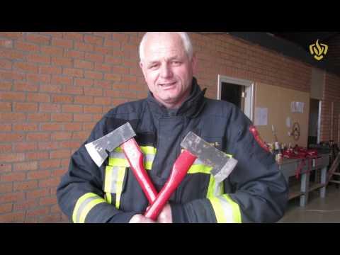 Brandweer Swifterbant neemt na 28 jaar afscbeid van Johan Sulkers