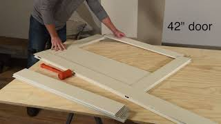 Montana PVC Barn Door Kit Installation Video