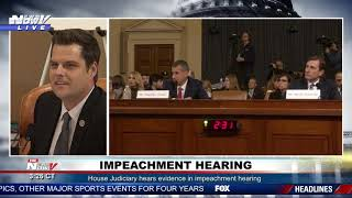 PARTISAN LAWYER: Matt Gaetz BRINGS UP Tweets From Democrats Counsel