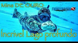 Lago Azul de Mara Rosa - Um dia de mergulho em Apneia - Fronteira Sub