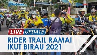 Naik Honda CRF 150L, Wakil Bupati Bersama KITA Bulungan ikut Trabas Trail Susuri Desa dan Kampung
