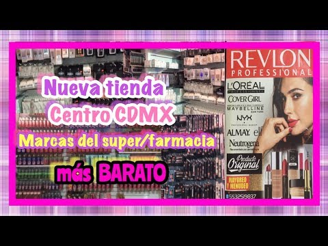 TOUR NUEVA TIENDA DE MAQUILLAJE ELF Y MÁS MARCAS DE SUPER/FARMACIA | MÁS BARATOS | CENTRO CDMX