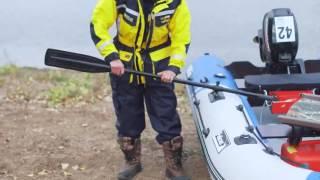 Телескопические весла для надувных лодок