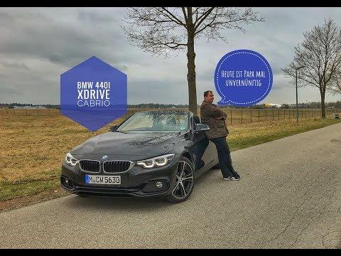 BMW 440i Cabrio xDrive Sportline | Papa ist heute unvernünftig