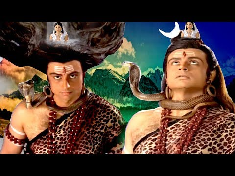 Lord Shiva Bury Maa Ganga In His Hair Bun || BR Chopra English Subtitle Hindi TV Serial