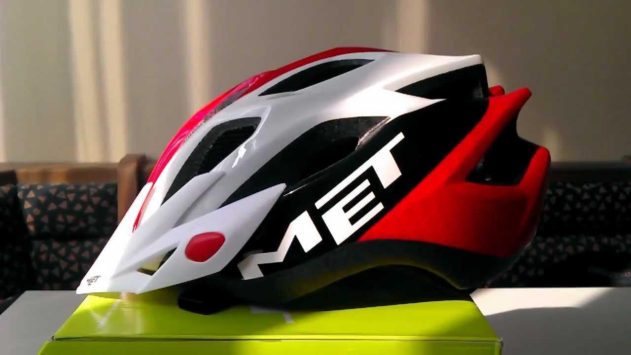 Видео Шлем MET Crossover Green (матовый)