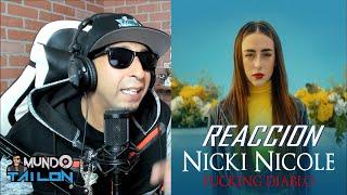 [Reaccion] Nicki Nicole   Diablo (Video Oficial)