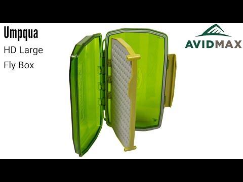 Umpqua HD Large Fly Box Review | AvidMax