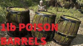 1lb Poison Barrels