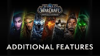 Additional Features in WoW – New & Returning Player Guides by Bellular