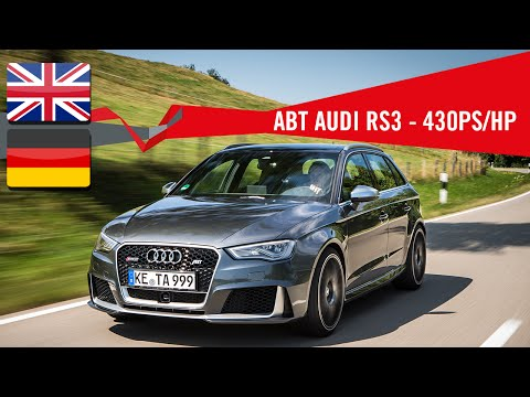ABT AUDI RS3 WITH 430PS
