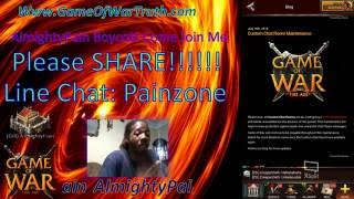 Game Of War AlmightyPain Boycott They Shut Don't The Chat Rooms Pay Attention Guys!!!!!