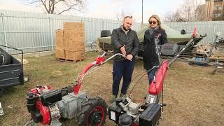 МотоблокWeimaDeluxe WM1050 от компании ПКФ «Электромотор» - видео