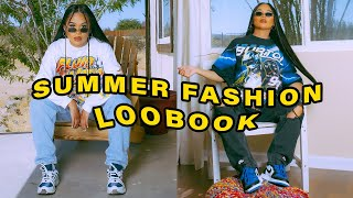 Summer Vintage Streetwear Fashion Lookbook | Mscrisssy