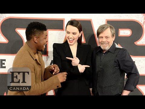 Daisy Ridley Shines In 'The Last Jedi' Spotlight | STAR WARS