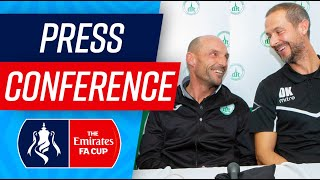 FA Cup Press Conference Part 2