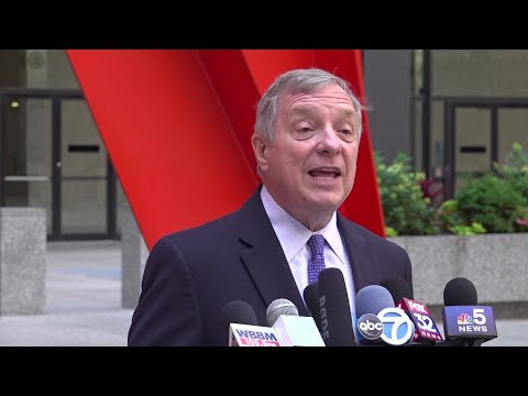U.S. Senator Dick Durbin says the Trump administration wants to put the citizenship question on the 2020 census to discourage Hispanic-Americans from being counted for fear information could be used to possibly deport one of their relatives. (July 8)