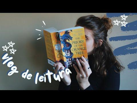 vlog de leitura: lendo aquela fantasia de 800 paginas, compras e recebidos | 2021