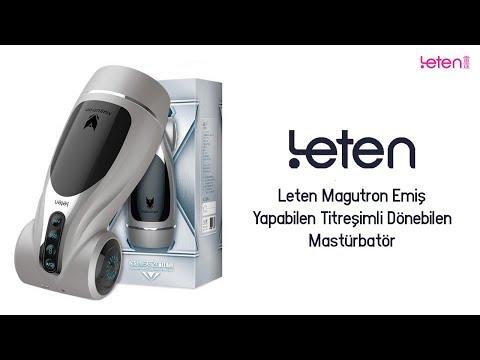 Leten Magutron 4 İşlevli Otomatik Mastürbatör Yapay Vajina
