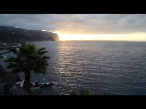 Impressionen aus Doreen Haberlands Yogaunterricht (hier auf Madeira)