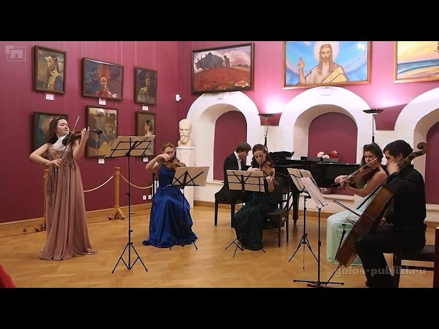 Chausson - Concert for Violin, Piano and String Quartet, Op. 21. Part II - Sicilienne