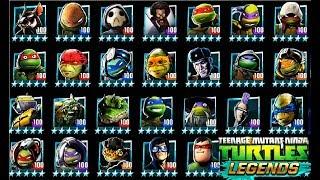 ВСЕ ГЕРОИ игры Черепашки ниндзя Легенды #193 Начало Турнира  бой всех героев TMNT Legends