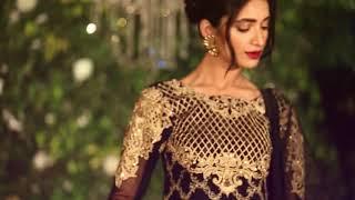 3db7f98830 Gulaal Premium Embroidered Chiffon Wedding Collection 2017 |  Sanaullastore.com