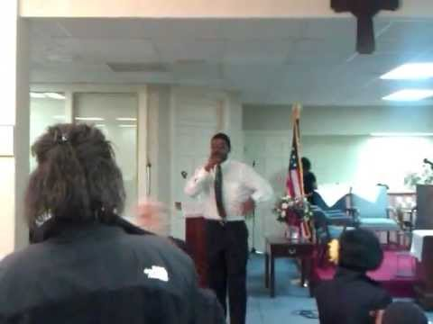 "Crown Of Glory 1ST Youth Conference  Performing my Song ""If I Only Knew"""