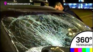 Семь человек пострадали в крупной аварии на Новорижском шоссе