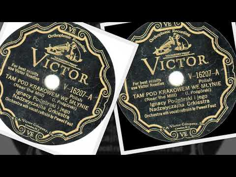Polish 78rpm recordings, 1931. VICTOR V-16207. Jechał chłop do miasta –mazur {Farmer drives to town}