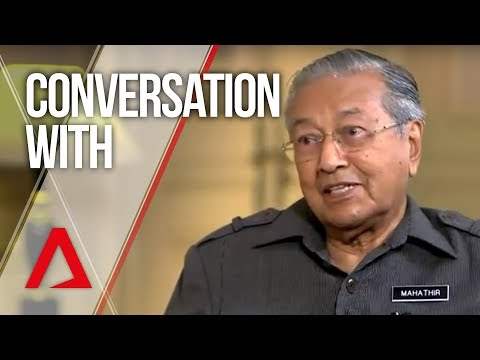 Conversation With: Mahathir Mohamad (CNA)