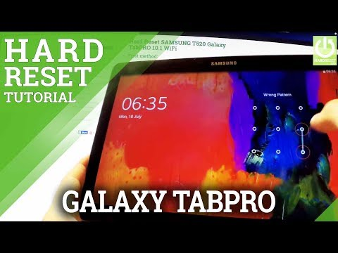 Hard Reset SAMSUNG T520 Galaxy TabPRO 10.1 WiFi - How to restore tablet